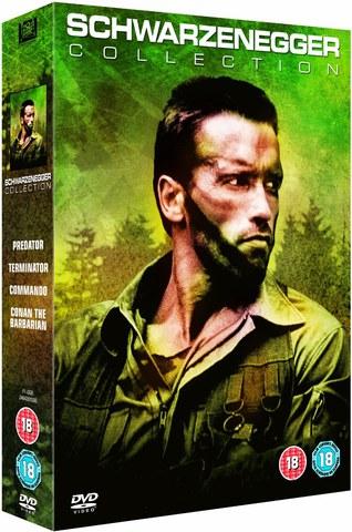 Predator/Commando/Terminator/Conan The Barbarian