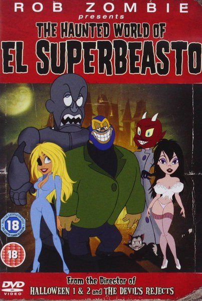 Rob Zombie Presents The Haunted World Of Superbeasto Dvd