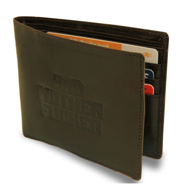 Bad Mother ****** Leather Wallet