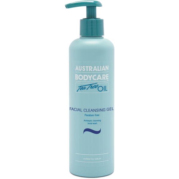 Gel para limpieza facial de Australian Bodycare (250 ml)