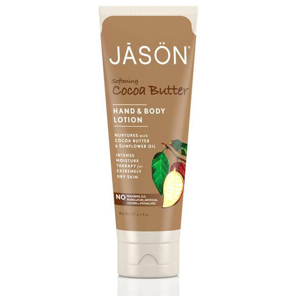 Lozione Emolliente Mani e Corpo al Burro di Cacao JASON (237ml)