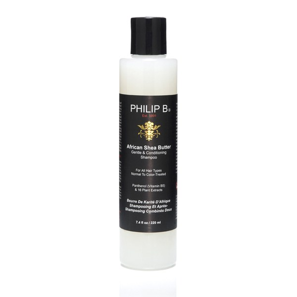 Philip B African Shea Butter Gentle & Conditioning Shampoo (Geschmeidigkeit) 220ml