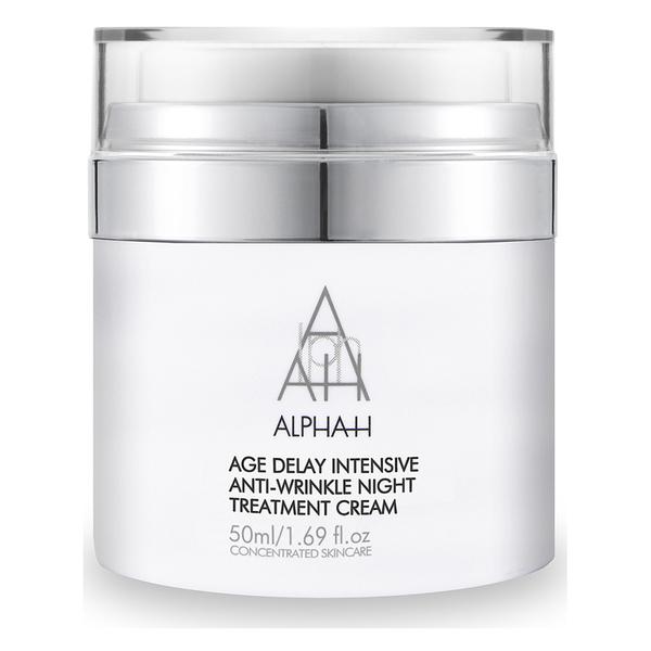 Crema de noche intensiva antiarrugas Alpha-H Age Delay (50ml)