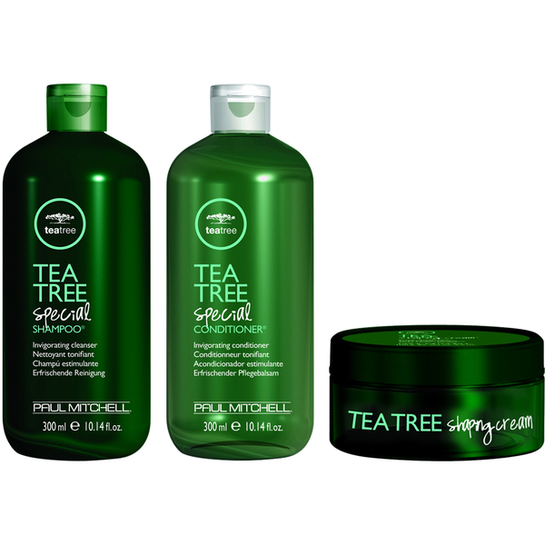 Paul Mitchell Tea Tree Special Trio Shampoo, Conditioner & Shaping Cream