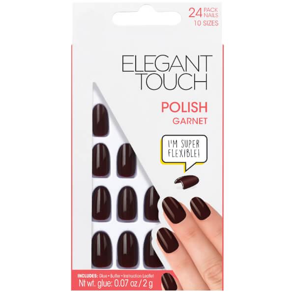 Elegant Touch Pre Polished Nails - Garnet