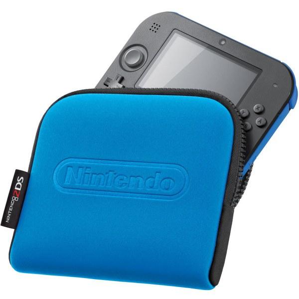 Nintendo 2DS Carrying Case - Blue | Nintendo UK Store