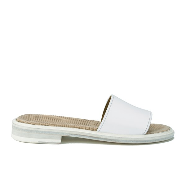 Paul Smith Shoes Paul Smith Shoes Women's Harbour Leather Slide Sandals - Bianco Oxford - UK 6
