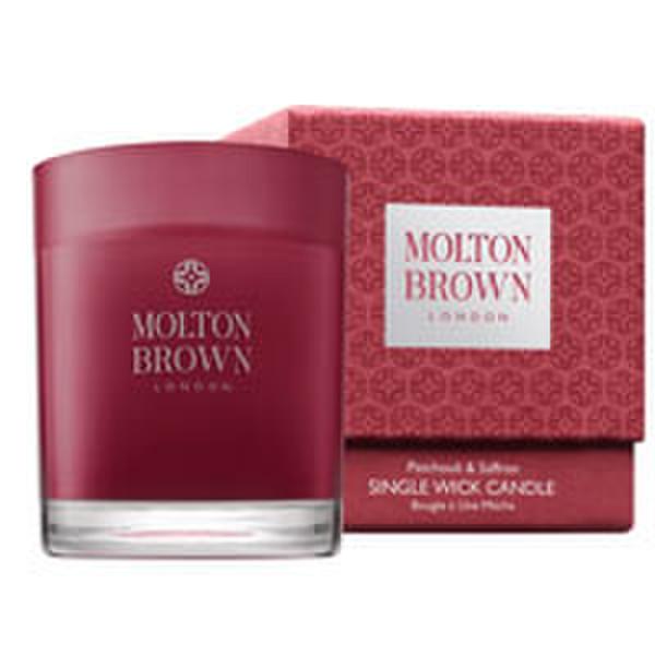 Molton Brown Patchouli and Saffron Single Wick Candle