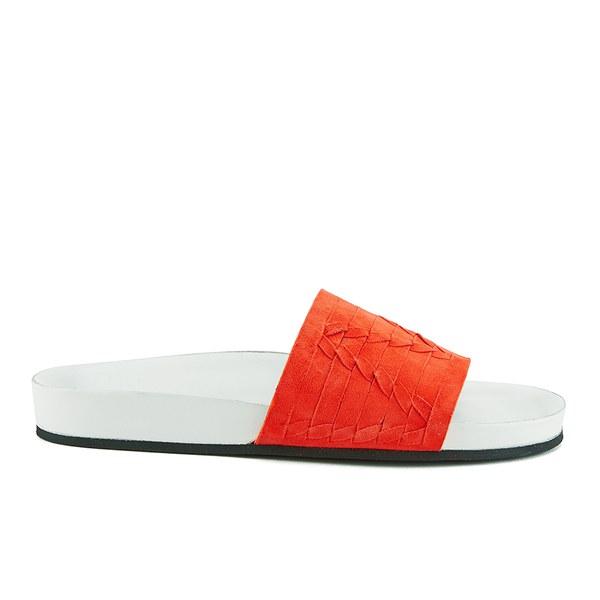 Thakoon Addition Thakoon Addition Women's Carly 01 Suede Slide Sandals - Poppy - UK 4
