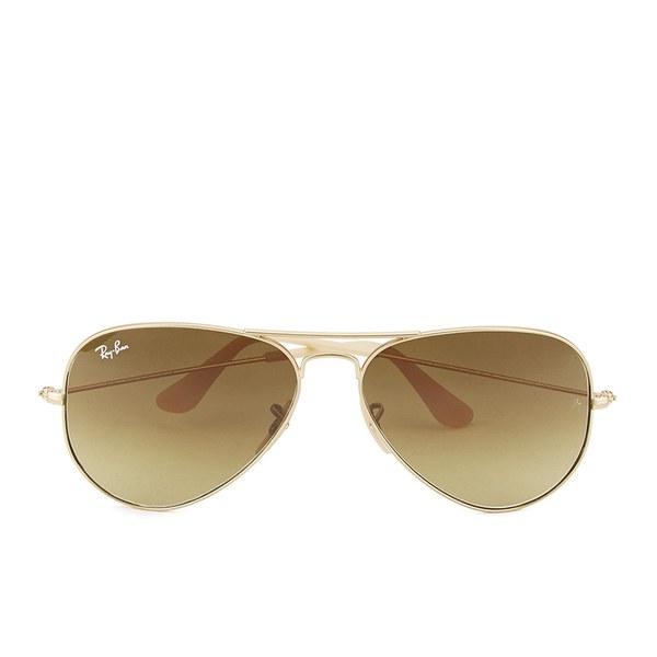 Ray-Ban Aviator Large Metal Sunglasses - Matte Gold - 58mm