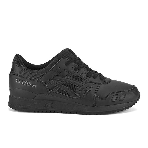Asics Gel-Lyte III (Mono Pack) Trainers - Black