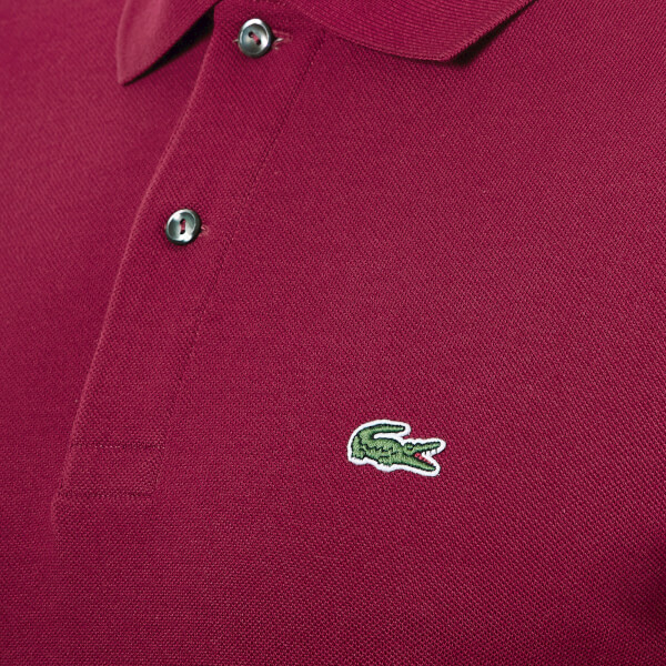 lacoste men 39 s polo shirt bordeaux clothing. Black Bedroom Furniture Sets. Home Design Ideas