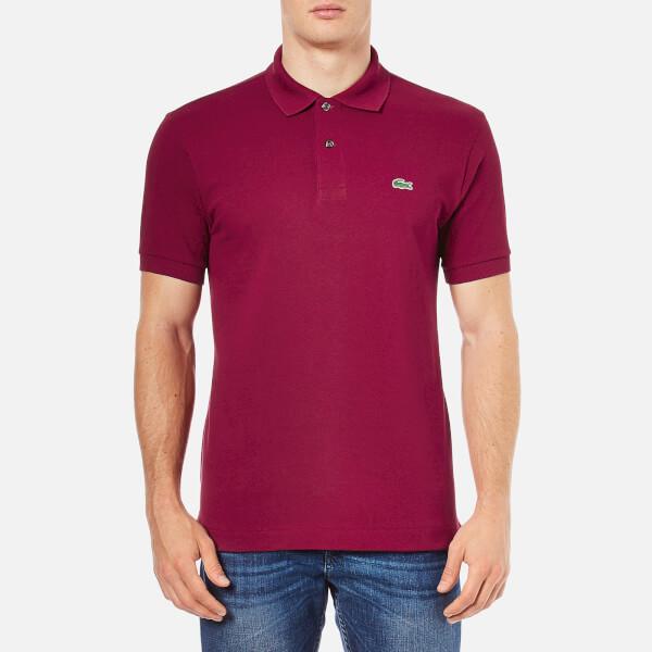 Lacoste Men's Polo Shirt - Bordeaux