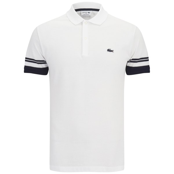 lacoste men 39 s 39 made in france 39 polo shirt white free uk delivery over 50. Black Bedroom Furniture Sets. Home Design Ideas