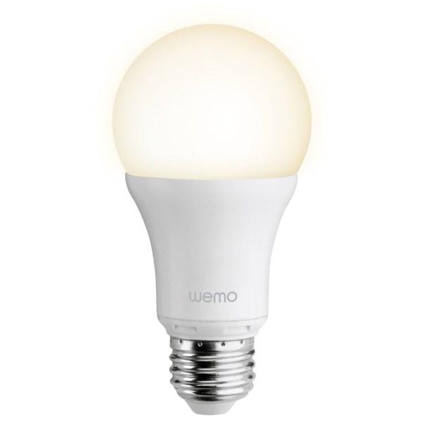 belkin wemo led single light bulb screw iwoot. Black Bedroom Furniture Sets. Home Design Ideas