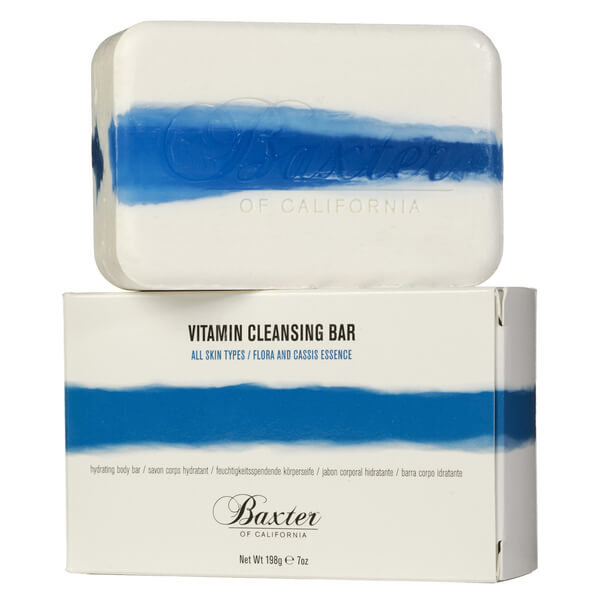 Baxter of California Vitamin Cleansing Bar - Flora Cassis 198g