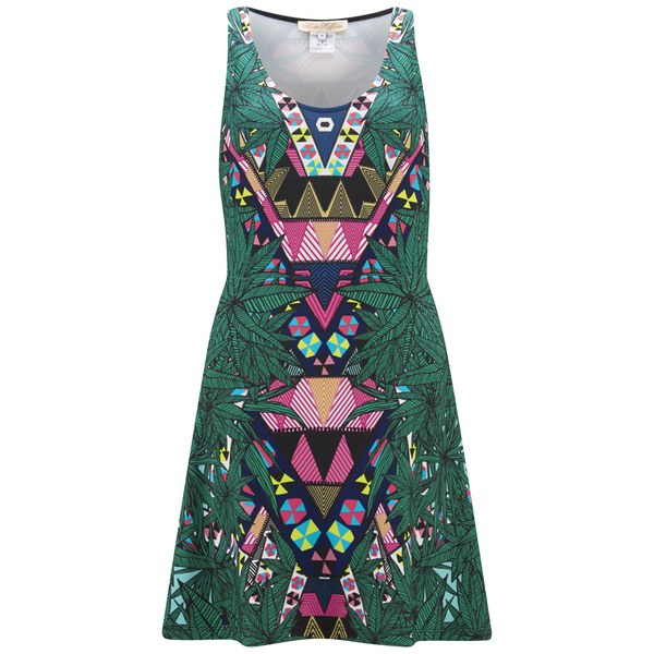 Mara Hoffman Women's Ponte Circle Dress - Maristar Green