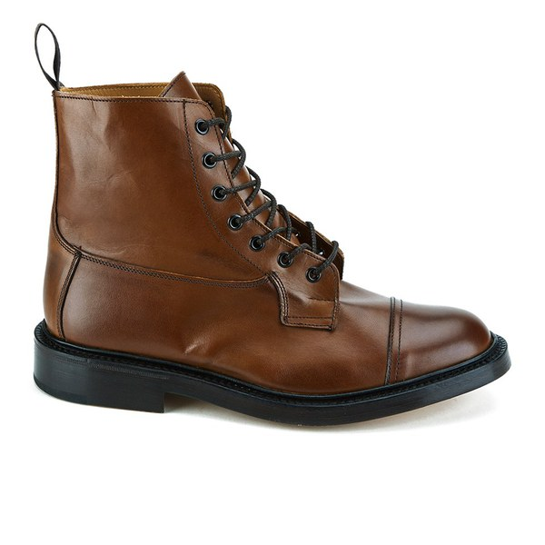 Knutsford by Tricker's Knutsford by Tricker's Men's Allan Toe Cap Leather Lace Up Boots - Tan - UK 7