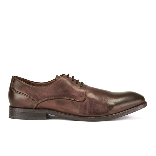 H Shoes by Hudson H Shoes by Hudson Men's Dylan Drum Dye Derby Shoes - Tan - UK 11
