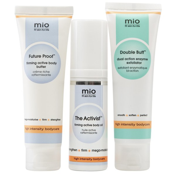 Mio Skincare 健美是新的纤细套装