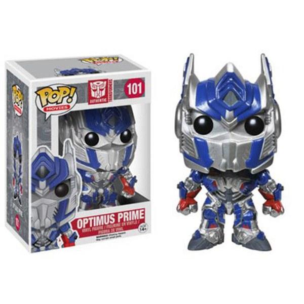 Transformer Optimus Prime Metallic Exclusive Pop! Vinyl Figure