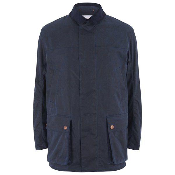 Private White VC Men's Wax Cotton Shooting Jacket - Navy