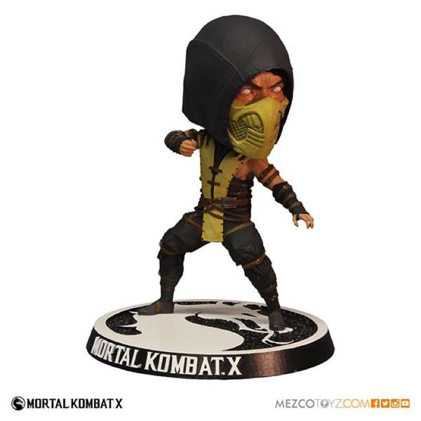 Mortal Kombat X Scorpian Bobble Head Action Figure