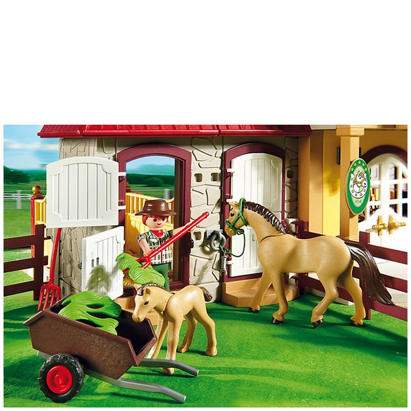 Playmobil Horse Farm Large Pony Farm (5221) Toys | Zavvi.com