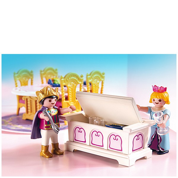 Playmobil princeses royal dining room 5145 iwoot for Playmobil dining room 5335