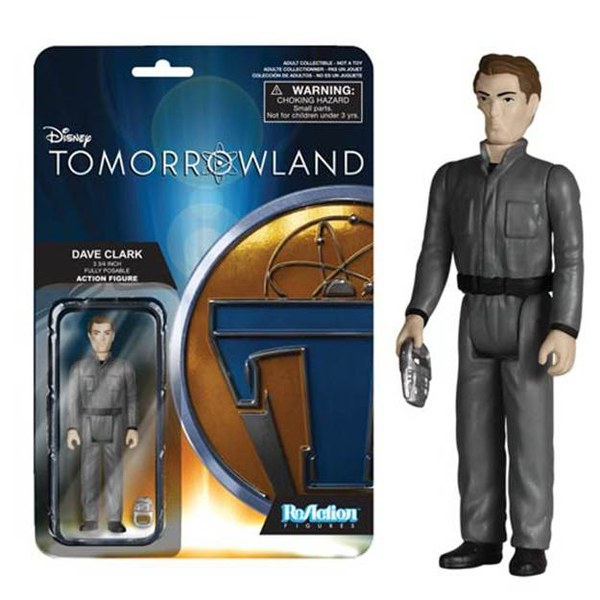 ReAction Disney Tomorrowland Dave Clark 3 3/4 Inch Action Figure