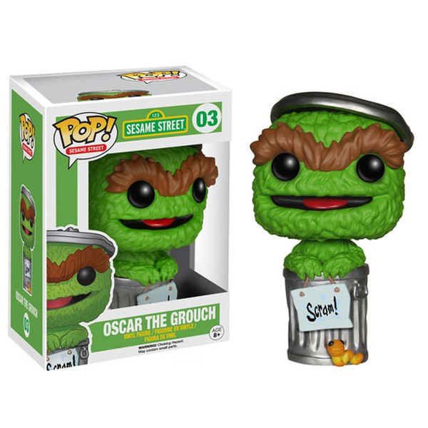 Sesame Street Oscar The Grouch Pop! Vinyl Figure