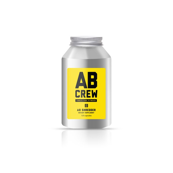 AB CREW Men's AB Shredder Supplement (120 kapslar)