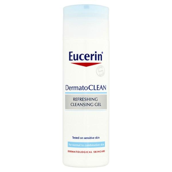 Eucerin® DermatoCLEAN gel nettoyant rafraîchissant (200ml)