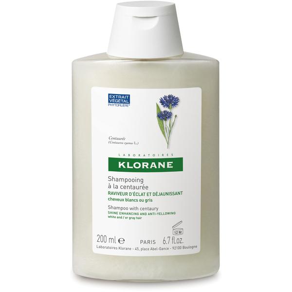 KLORANE Centaury (Cornflower) For Grey/White Hair Shampoo