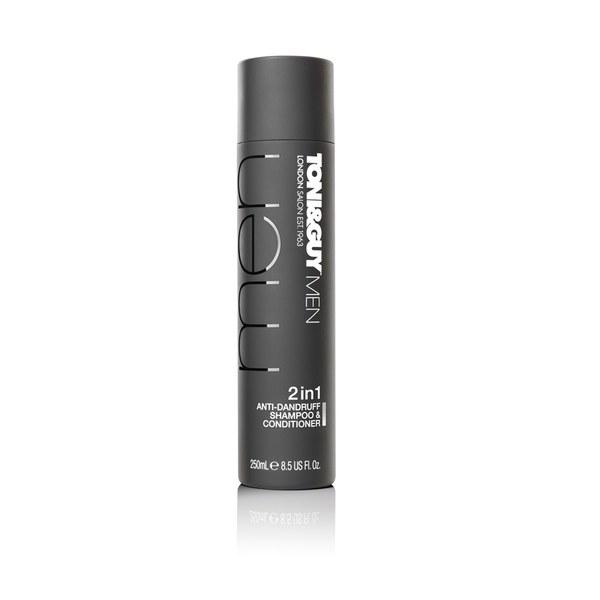 Toni & Guy Men's Anti-Dandruff Shampoo and Conditioner (250ml)