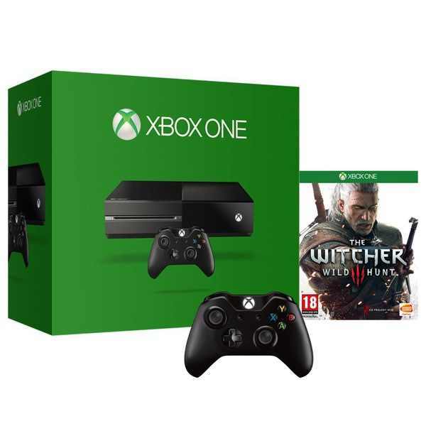 xbox one console includes the witcher 3 wireless. Black Bedroom Furniture Sets. Home Design Ideas