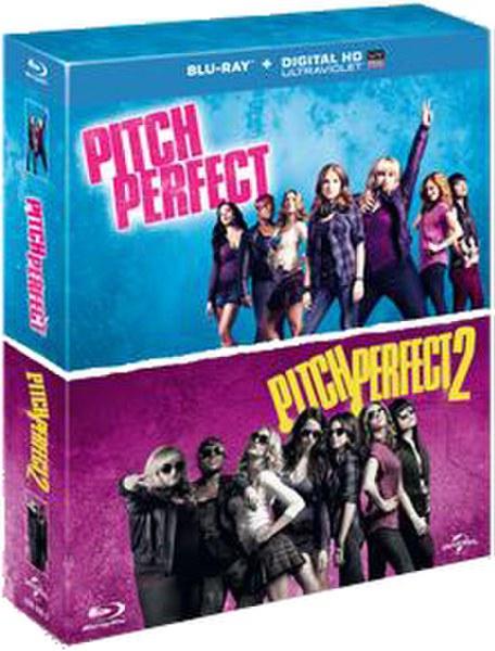 Pitch Perfect 1 & Pitch Perfect 2 DVD | Zavvi.com
