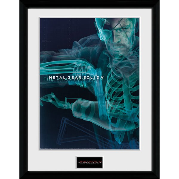 Metal Gear Solid V X-Ray Framed Photographic - 16 x 12