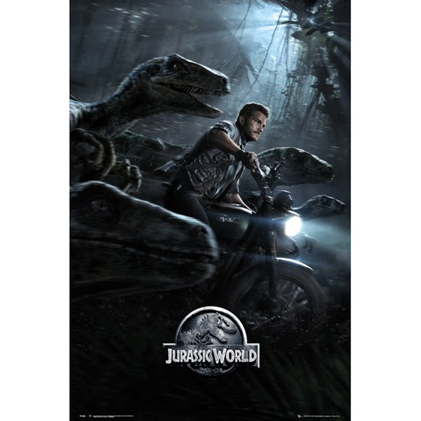 Jurassic World Raptors One Sheet Maxi Poster - 61 x 91.5cm