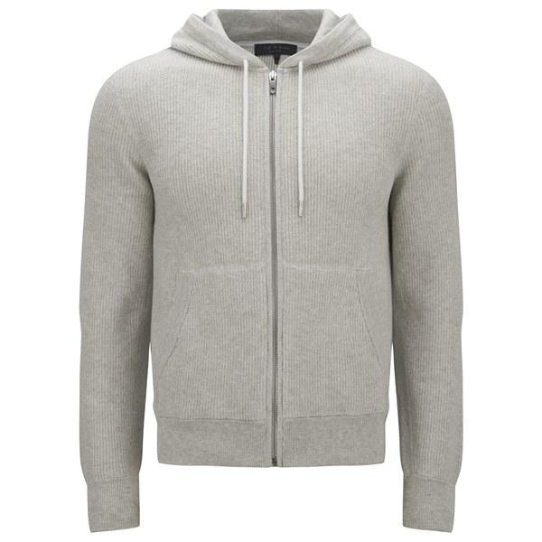 rag & bone Men's Jaxson Hooded Sweatshirt - Grey