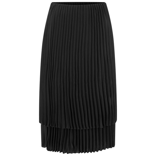 Excellent Womens Sexy Black Pleated Skirt - Sexy Costume Ideas Scary Costume Ideas