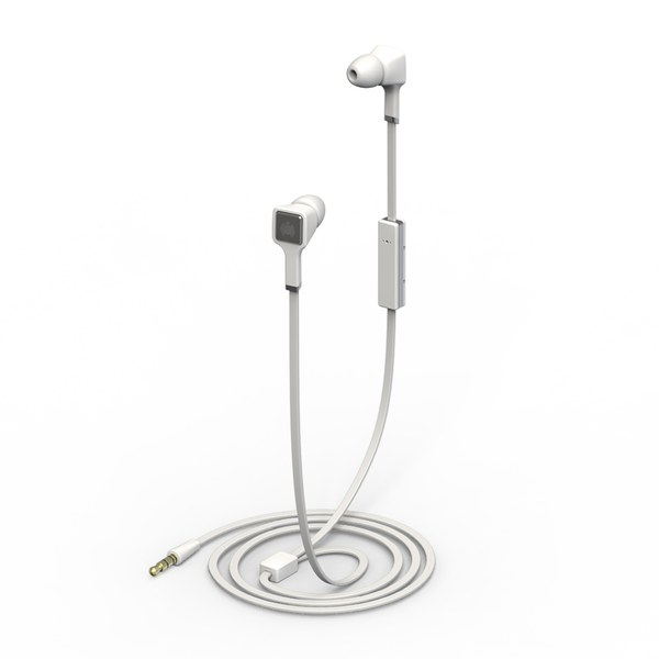 Ministry of Sound Audio Earphones - White and Gun Metal