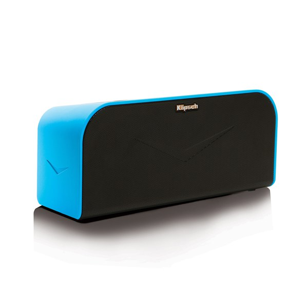 klipsch kmc 1 wireless bluetooth music system speaker blue electronics. Black Bedroom Furniture Sets. Home Design Ideas