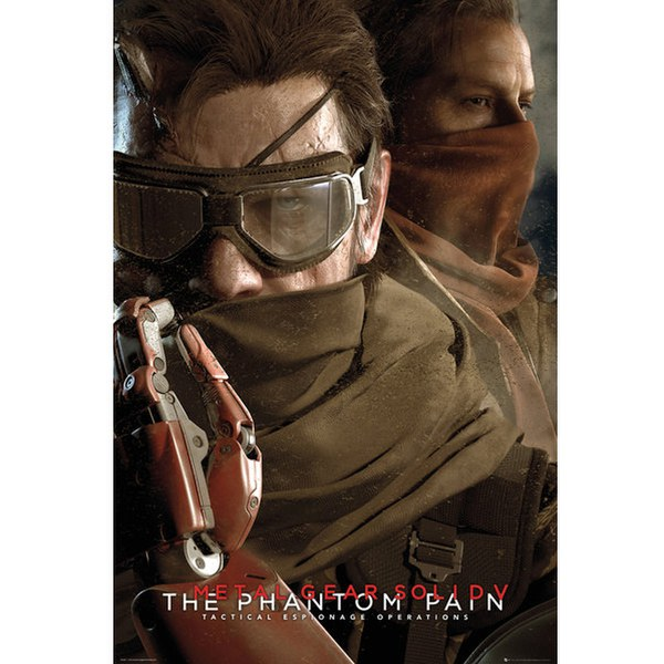 Metal Gear Solid V Goggles - 24 x 36 Inches Maxi Poster