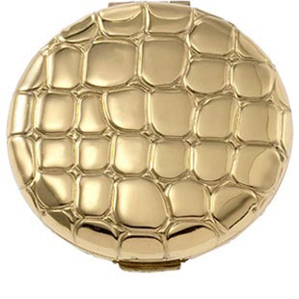 Compacto Slim Alligator Metal de Estée Lauder