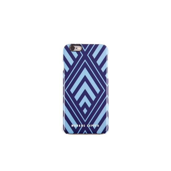 Markus Lupfer Women's Smacker Lip iPhone 6 Case - Black/Blue