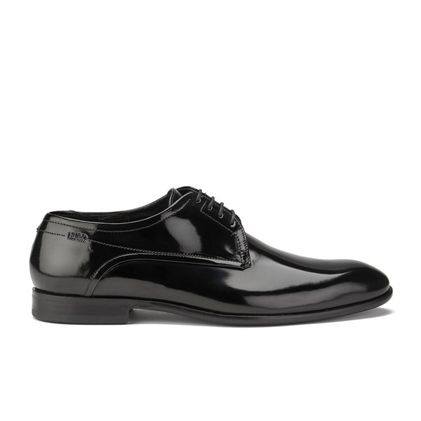 HUGO Men's C-Dresspat Leather Derby Shoes - Black