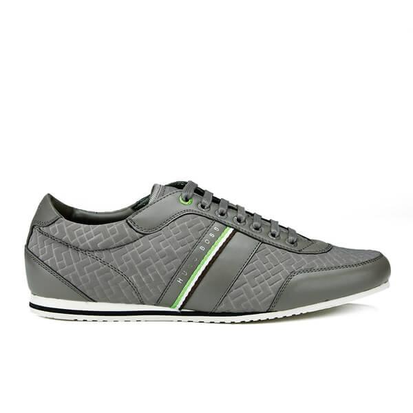 BOSS Green BOSS Green Men's Victual Trainers - Dark Grey - UK 7