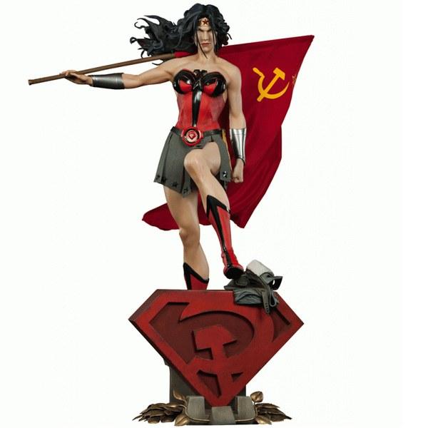 Sideshow Collectibles DC Comics Wonder Woman Red Son Premium Format Statue