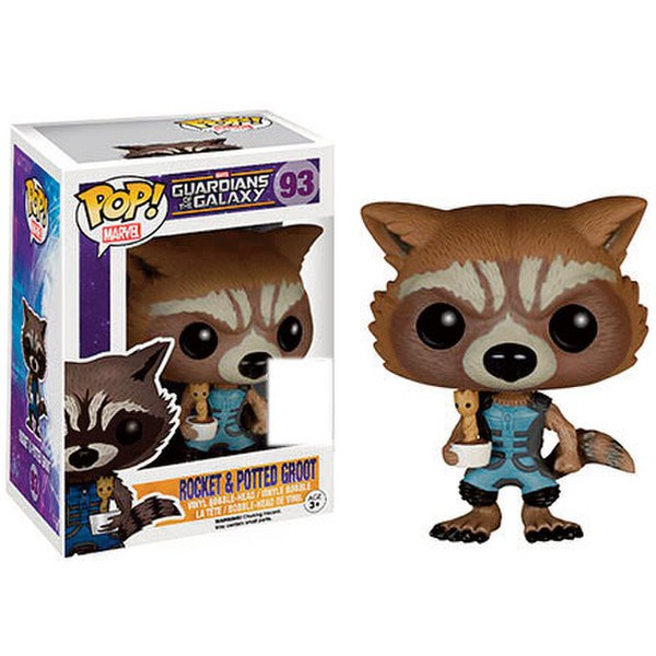 Marvel Guardians Of The Galaxy Rocket Raccoon Holding Baby